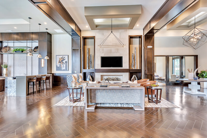 Clubhouse | Axis Kessler Park Apartments