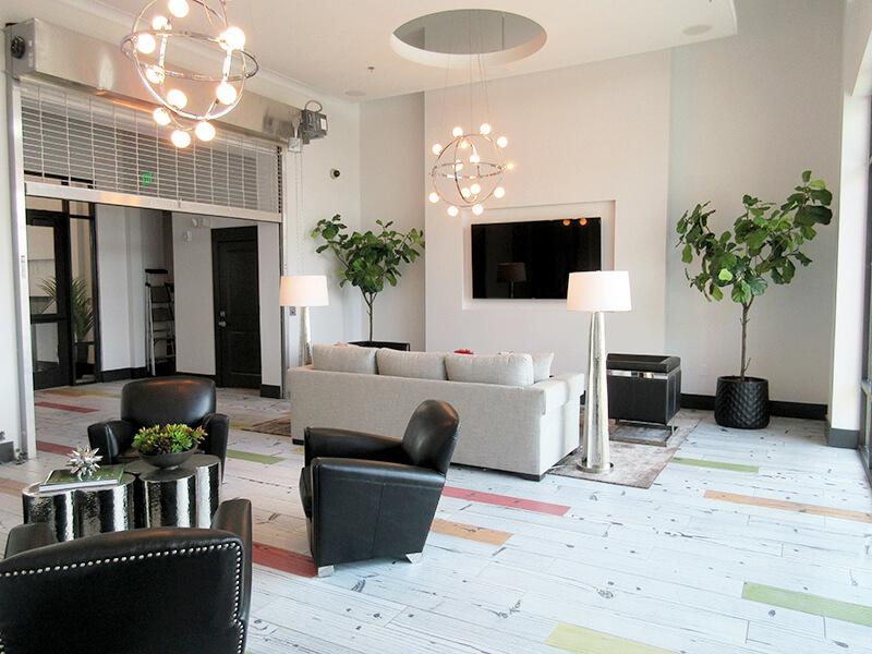 Resident Lounge Axis Hamilton Apartments